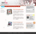 FairSay unimplemented 2006 website design proposal.