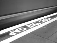 Mind The Gap: Painted Words Image